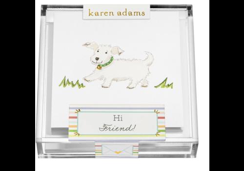 "Karen Adams Karen Adams Acrylic Box Enclosures ""Friend"""