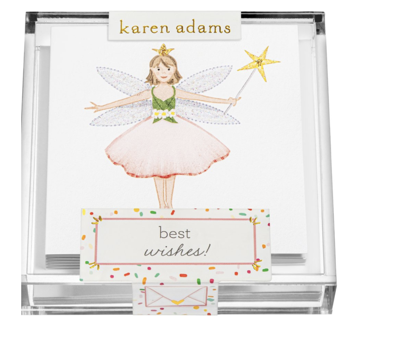 "Karen Adams Acrylic Box Enclosures ""Fairy"""