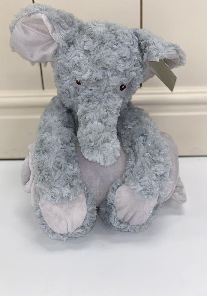 Elegant Baby Bedtime Huggie Elephant Swirl