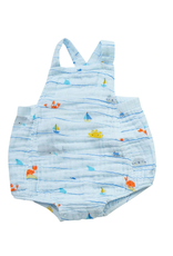 Angel Dear Angel Dear Sea Stripes Retro Sunsuit