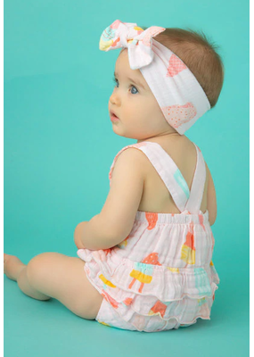 Angel Dear Angel Dear Cool Sweets Ruffle Sunsuit