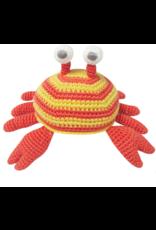 Albetta Albetta Crochet Crab Rattle Toy