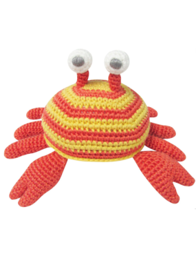 Albetta Albetta Crochet Crab Rattle Toy