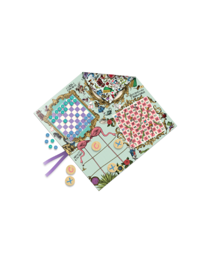 Professor Puzzle Alice's Party Games Mat