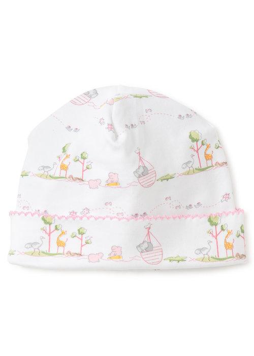 Kissy Kissy KK Noah's Print Hat - Pink