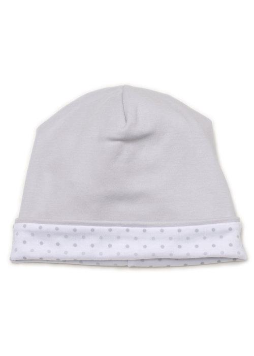 Kissy Kissy KK Hat PRT in Silver beary cute - Newborn