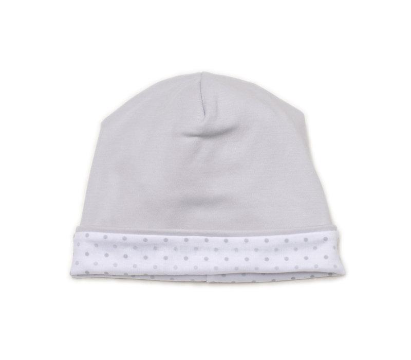 KK Hat PRT in Silver beary cute - Newborn