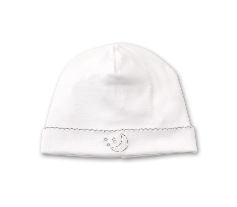 KK Hat White - Newborn - PiquenMoon