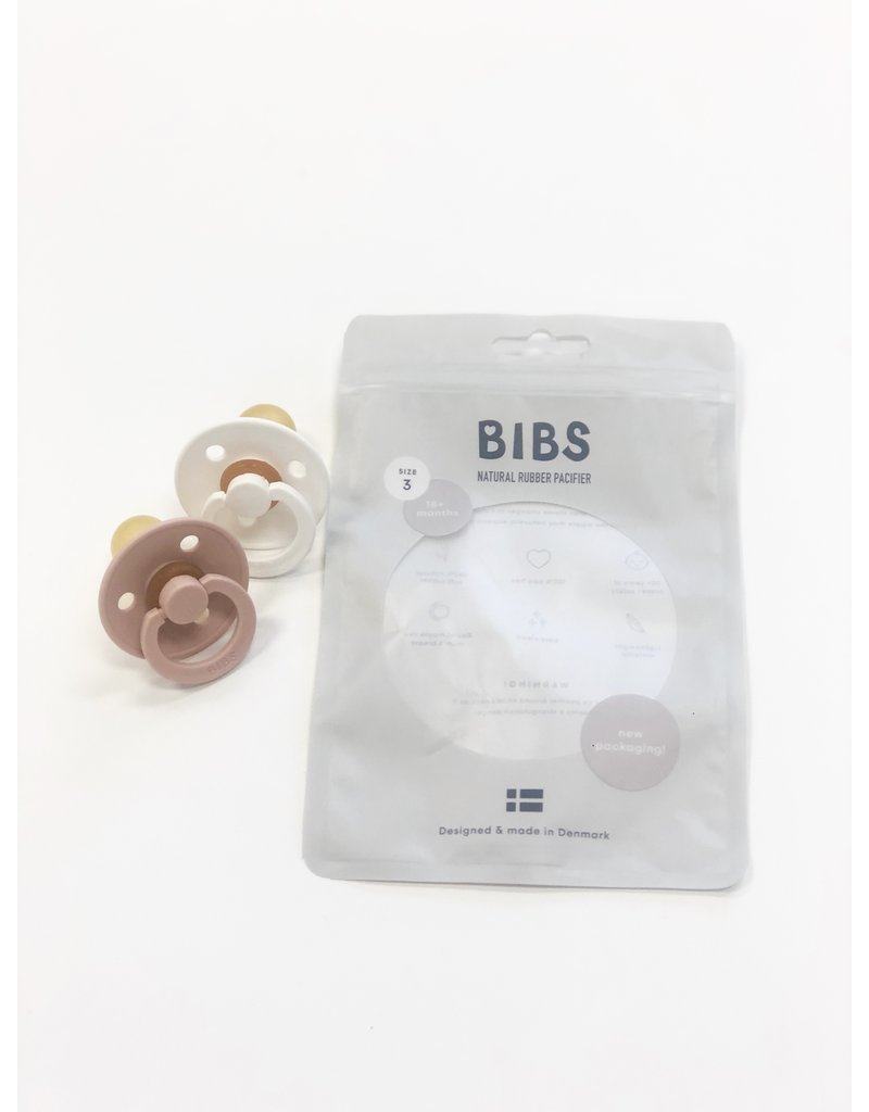 Bibs Paci Size 3 Pack of Two
