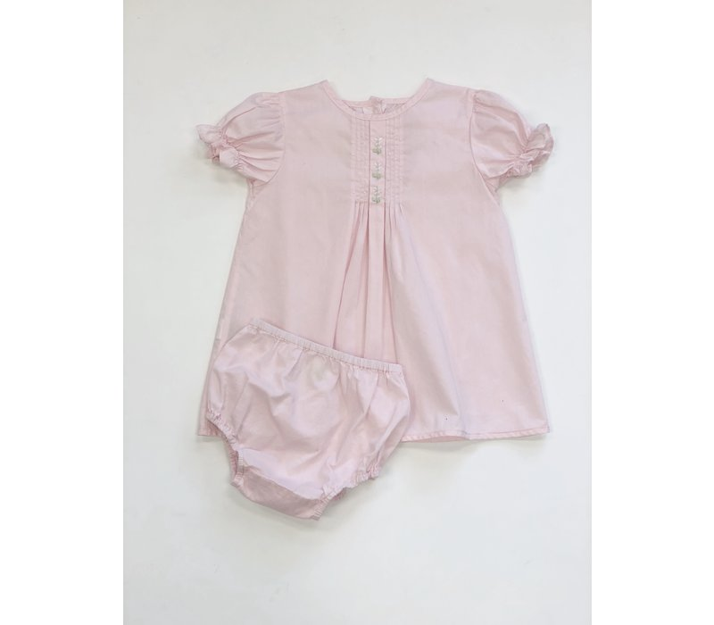 Pixie Lily Day Dress w/Bloomer Pink 24 mos.