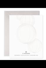 E. Frances Paper E. Frances Paper -  Wedding Lanterns Greeting Card