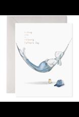 E. Frances Paper E. Frances Paper -  Hammock Dad Greeting Card