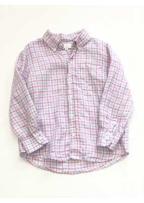 Alise Kathleen & Company Alise Kathleen & Company Pink & Blue Plaid Buttondown Size 5