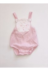 Pixie Lily Pixie Lily Pink Kitty Sunsuit 24 mos.