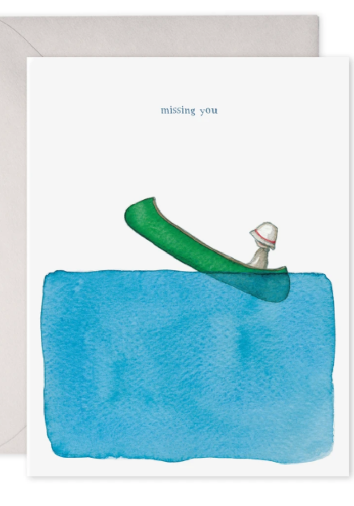 E. Frances Paper Missing You Canoe