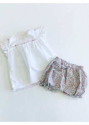 Little English Little English Floral Bloomer Set Size 3T
