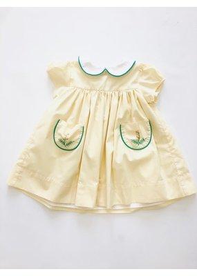 Dondolo Dondolo Golden Rod Dress Yellow 2T