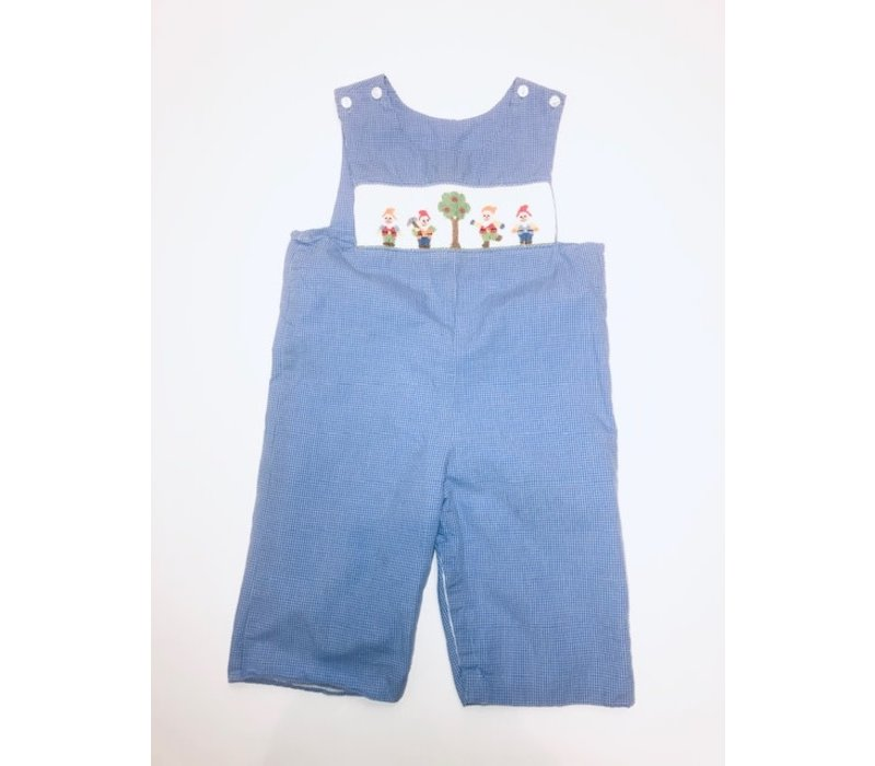 Claire & Charlie Seven Dwarfs Smocked Longall 18m