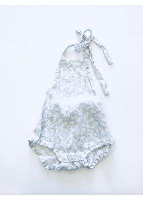 Rylee & Cru Rylee & Cru Gray Floral Bubble 2T