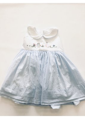 Christian Elizabeth & Co Christian Elizabeth & Co. Peter Rabbit/Mother Goose Dress Blue/Wht 2T