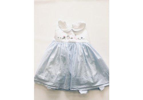 Christian Elizabeth & Co Christian Elizabeth & Co. Peter Rabbit/Mother Goose Dress Blue/Wht 2T