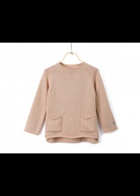 Donsje DonsJe Pink Clay Cotton Stella Sweater 5-6Y NWT