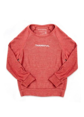 Good Hyouman Good HYOUman Scarlet Thankful Sweatshirt 8 NWT