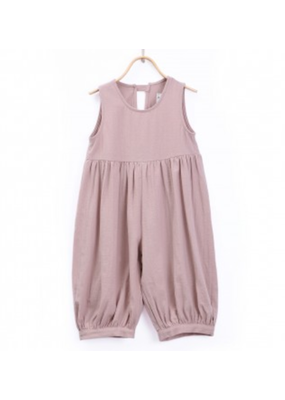 Donsje DonsJe Old Pink Cotton Jola Overall 4-5Y NWT
