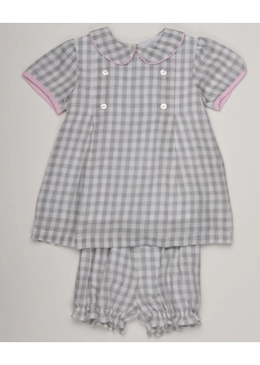 Oaks Apparel Company Oaks Apparel Peyton Gray Check Set 3T NWT