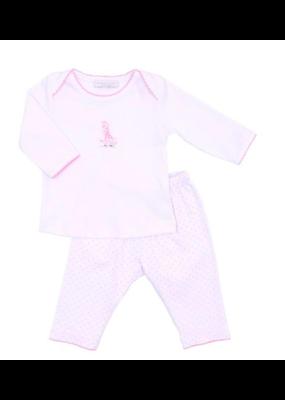 Magnolia Baby Magnolia Baby Pink Giraffe Set 24M NWT