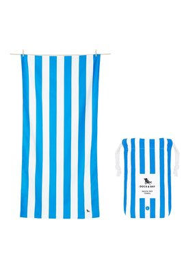 Dock & Bay Dock and Bay Quick Dry Towel/ Cabana/LG/Bondi Blue