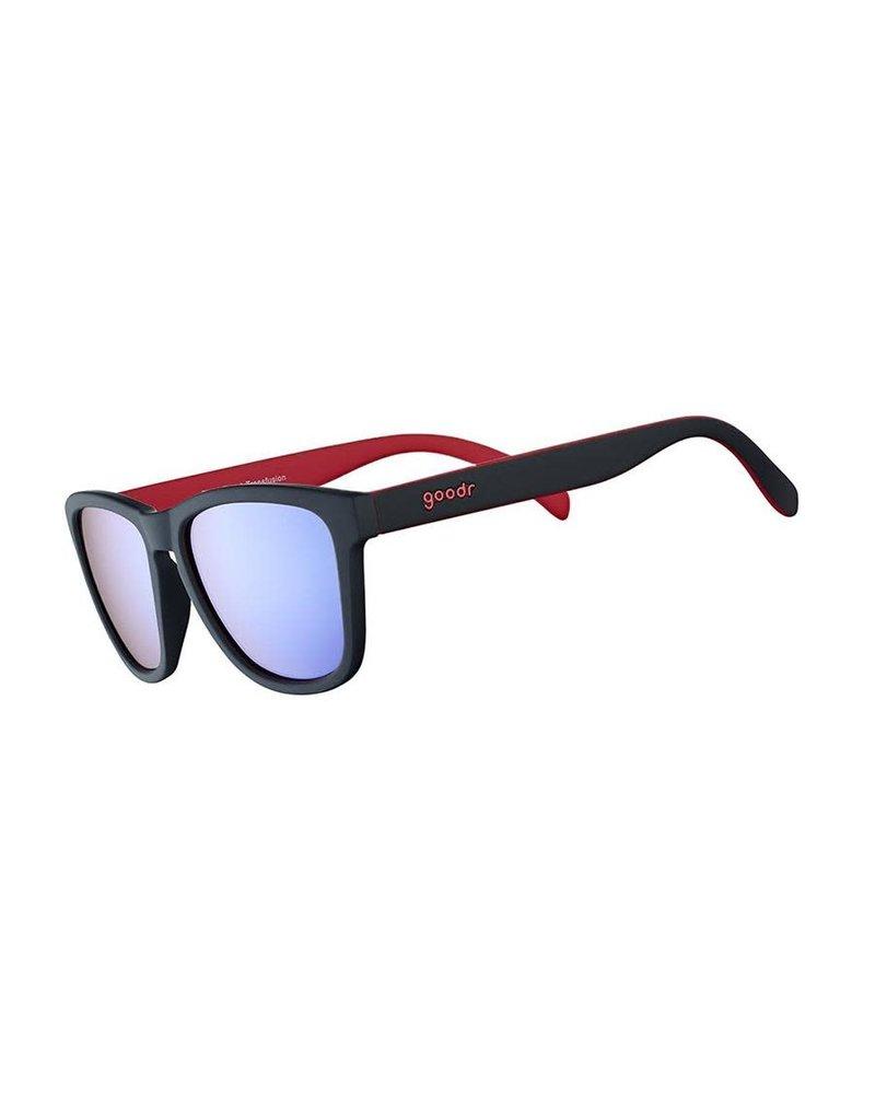 Goodr Goodr Sunglasses- Tiger Blood Transfusion