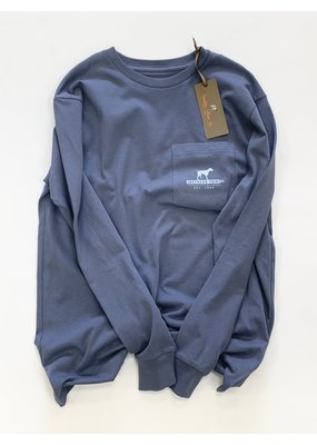 Southern Point Southern Point LS Tee Slate S NWT