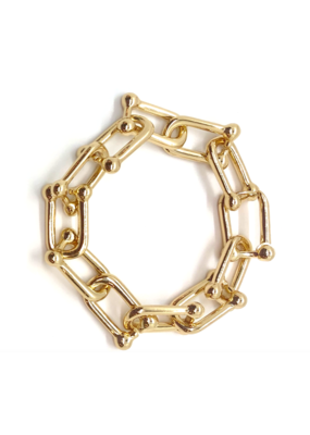 Accessory Concierge  Barbell Link Chain Bracelet