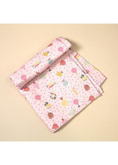 Viverano Viverano Organic Cotton Swaddle Blanket Summer 2020 Prints