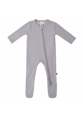 Kyte Baby Kyte Zippered Footie in Storm