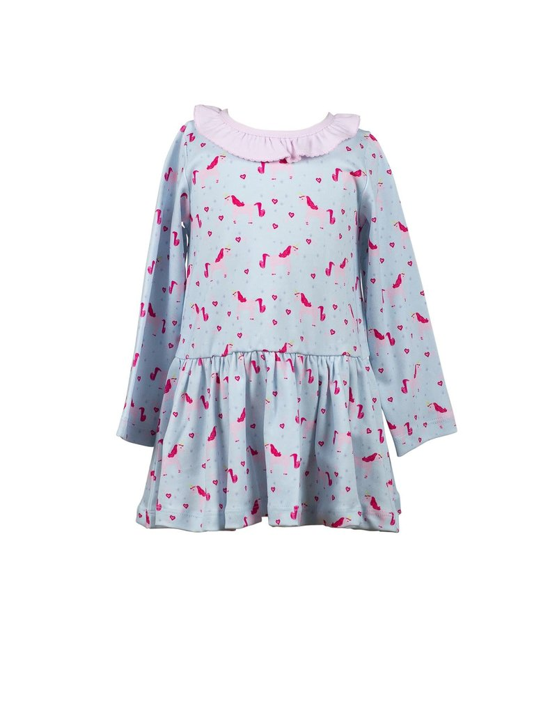 Proper Peony Proper Peony Lula Unicorn Twirl Dress