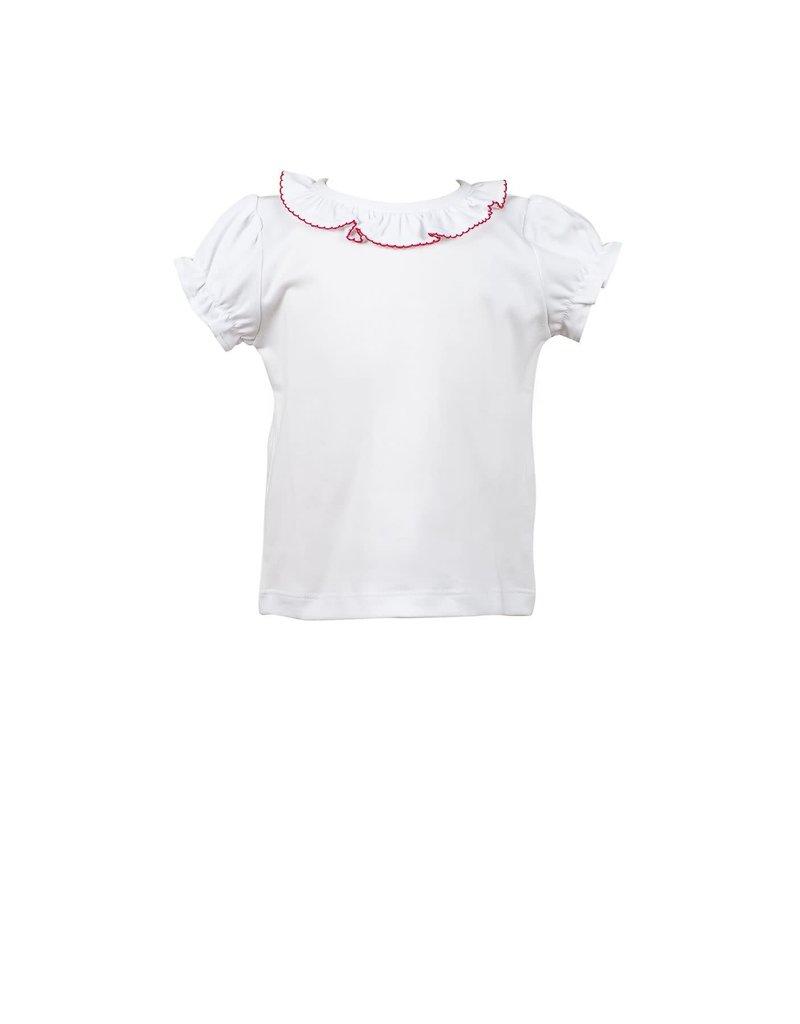 Proper Peony Proper Peony Archer Apple White Shirt w/Red