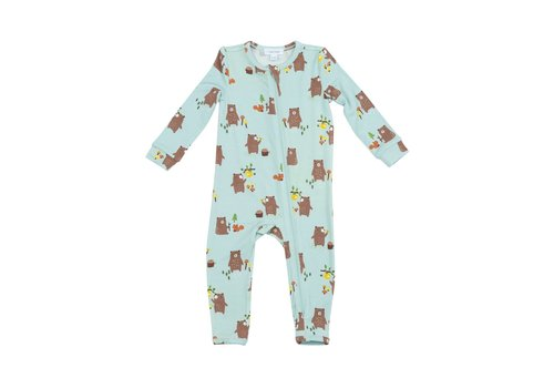 Angel Dear Angel Dear Baby Bears Zipper Romper
