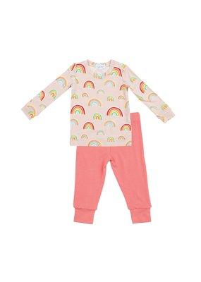 Angel Dear Angel Dear Rainbows Lounge Wear Set Pink