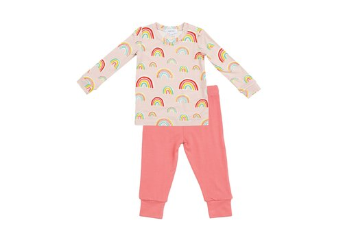 Angel Dear Angel Dear Rainbows Lounge Wear Set Pink