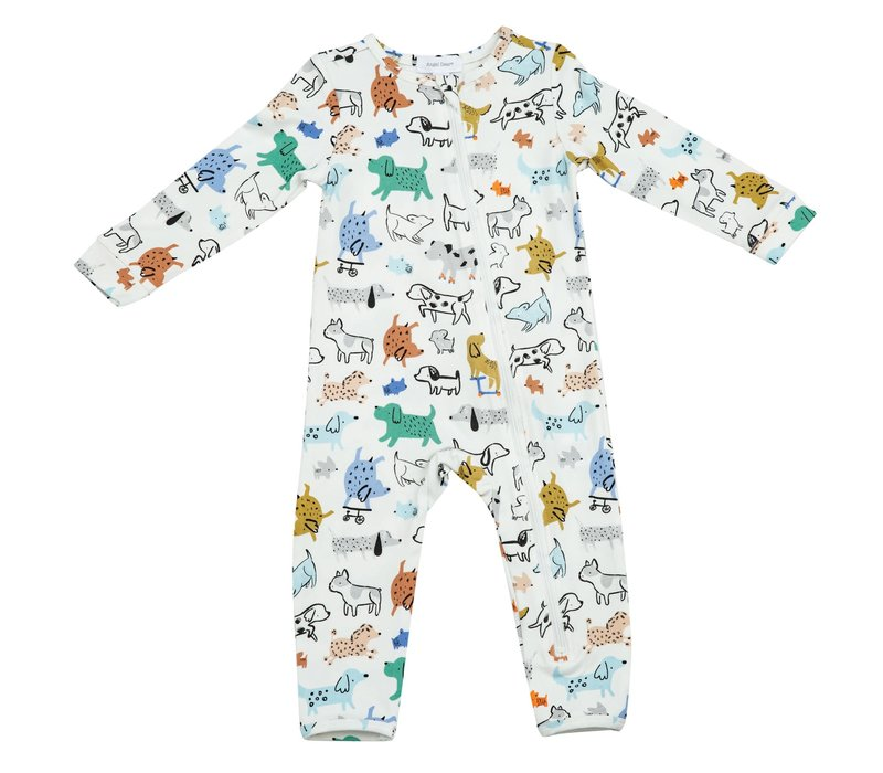Angel Dear Cool Pups Zipper Romper