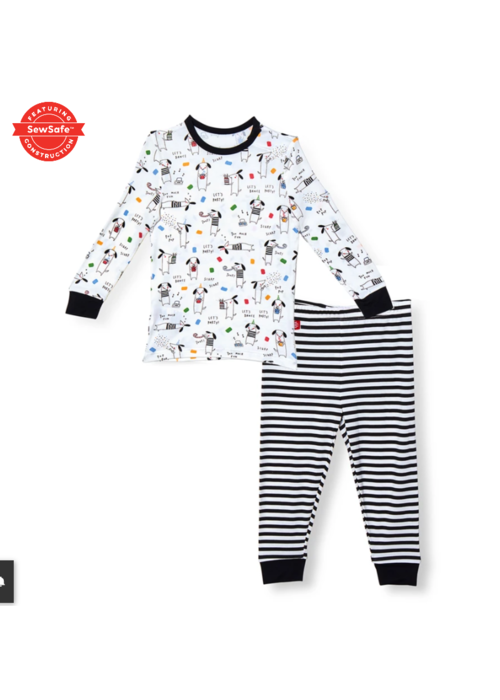 Magnetic Baby Magnetic Baby Raise the Woof Modal Magnetic Toddler PJ