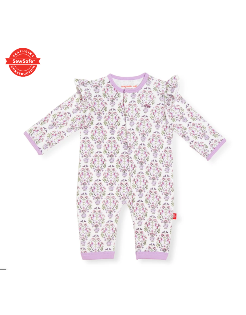 Magnetic Baby Magnetic Me Unicorn Dreams Organic Cotton Magnetic Coverall