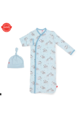Magnetic Baby Magnetic Me Blue Little One Modal Magnetic Gown & Hat Newborn - 3 Months