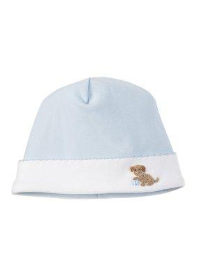 Mudpie Blue Puppy Cap 0-3 Months