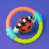 Sassy Sassy Spin & Chew Flex Ring Rattle
