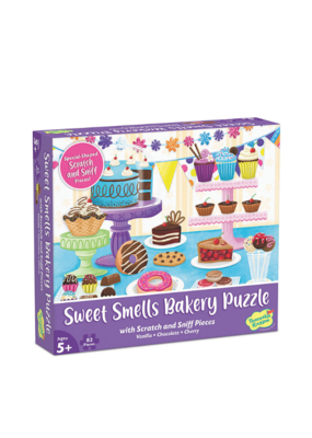 mindware Mindware Scratch and Sniff Puzzle: Sweet Smells Bakery