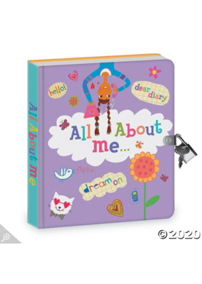 mindware Mindware Diary: Lock & Key:  All About Me