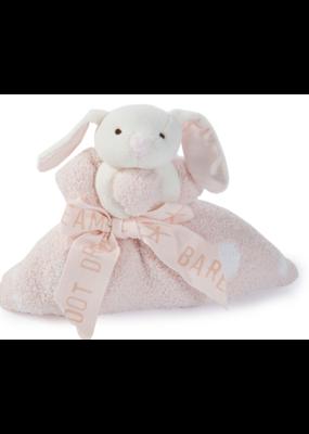 Barefoot Dreams Barefoot Dreams Cozychic Dream Mini Blanket Pink Bunny
